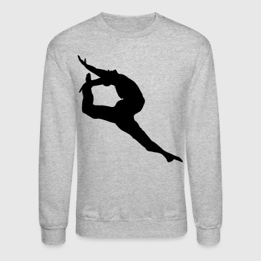 Dance Gymnastics Ballet Men Boy Teens T-shirts - Crewneck Sweatshirt