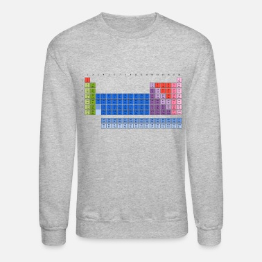 Periodic Table Of The Elements Periodic Table of Elements - Unisex Crewneck Sweatshirt