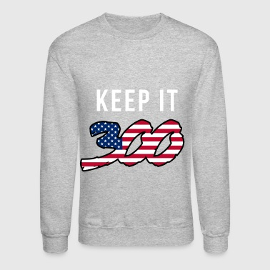 Chief Keef Keep it 300 (2) - Crewneck Sweatshirt
