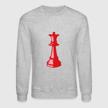 Chess queen chess pieces - Crewneck Sweatshirt