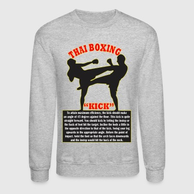 Thai Boxing - Crewneck Sweatshirt