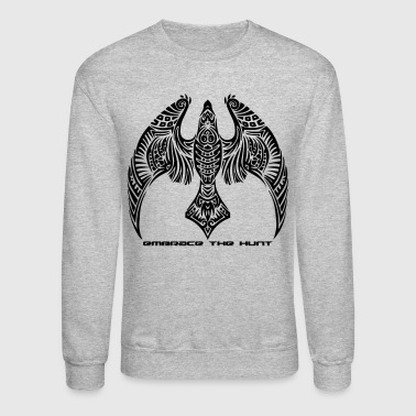 Hawk Hawks Embrace the Hunt Merchandise - Crewneck Sweatshirt