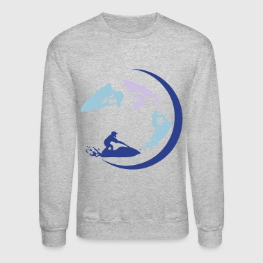 jet ski freestyle entertainment group 1 - Crewneck Sweatshirt