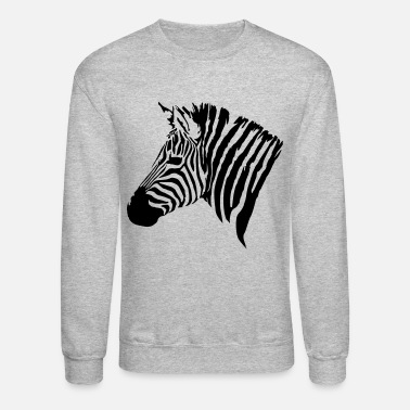 Zebra The head of the Zebra - Unisex Crewneck Sweatshirt