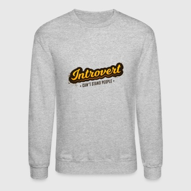Introvert - Crewneck Sweatshirt