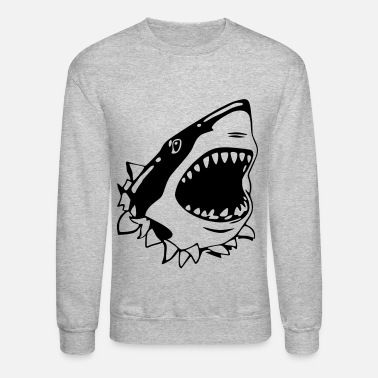 Shark Great White Shark - Crewneck Sweatshirt