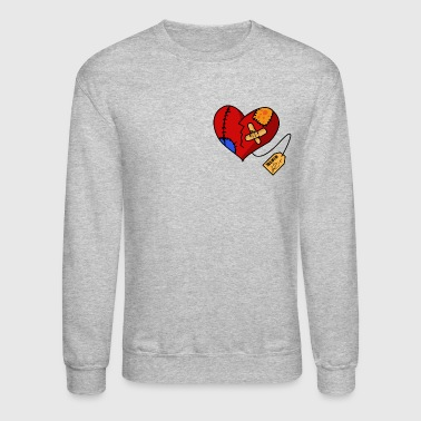 Heart Broken Heart - Crewneck Sweatshirt