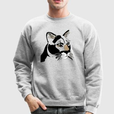 Cougar,Puma,Mountain Lion - Crewneck Sweatshirt