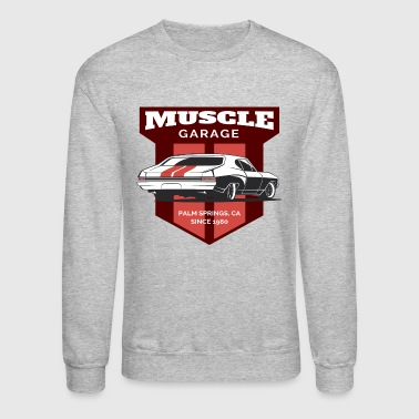 Garage Muscle Car - Crewneck Sweatshirt