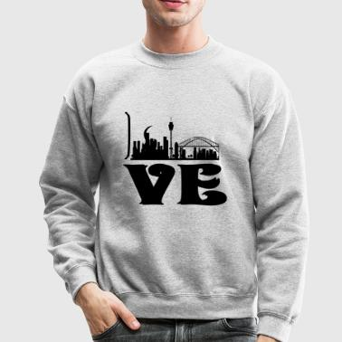 Love Sydney shirt - Crewneck Sweatshirt