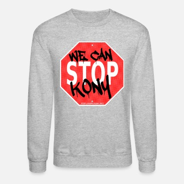 Kony 2012 - We Can Stop Joseph Kony - Unisex Crewneck Sweatshirt