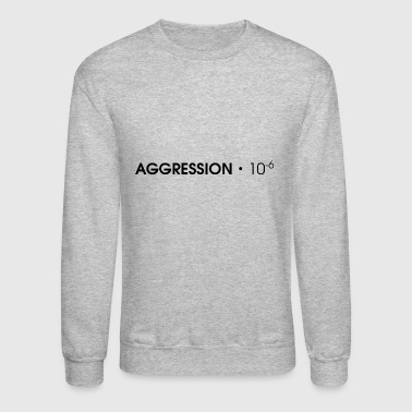 AGGRESSION・10^-6 - Black - Crewneck Sweatshirt