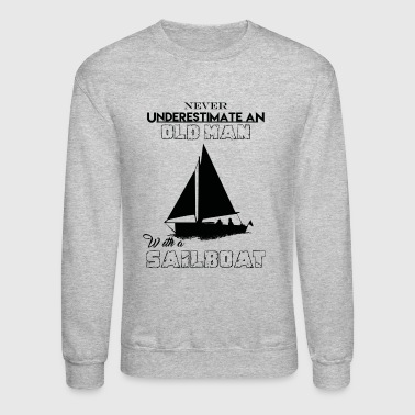 Sailboat With A Sailboat - Crewneck Sweatshirt