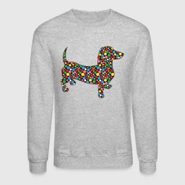 Polka-Dot-Doxie - Crewneck Sweatshirt
