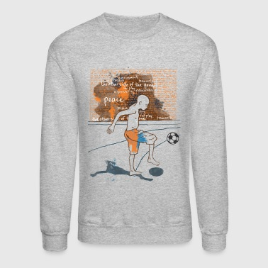 I love Football - Crewneck Sweatshirt