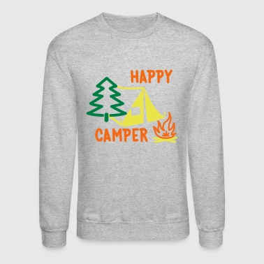 Happy Camper - Crewneck Sweatshirt