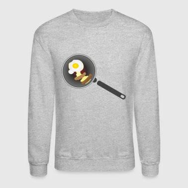 frying pan - Crewneck Sweatshirt