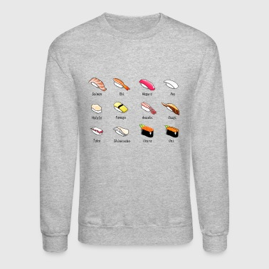 sushi reis rice chopsticks food essen japan27 - Crewneck Sweatshirt