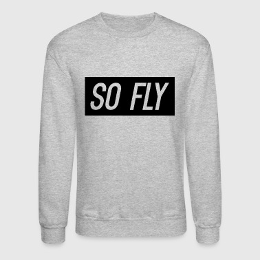 So Fly logo design - Crewneck Sweatshirt