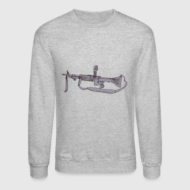 machine gun - Crewneck Sweatshirt