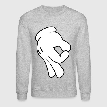Mickey Gottem Hands - Crewneck Sweatshirt
