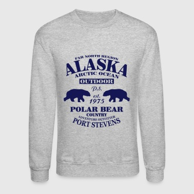 Alaska -  Polar Bear Country - Crewneck Sweatshirt