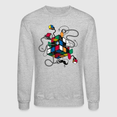 Rubik's Cube Illustrated - Crewneck Sweatshirt
