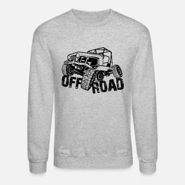 Off Off-Road 4x4 Jeep - Crewneck Sweatshirt