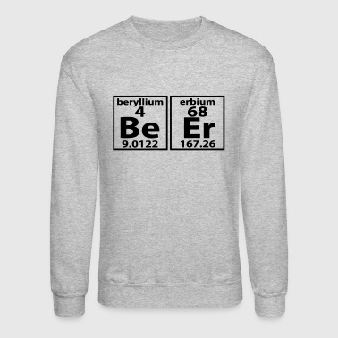 THE BEER ELEMENT PERIODIC TABLE - Crewneck Sweatshirt