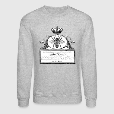 French Handwriting Queen Bee Crown - Crewneck Sweatshirt