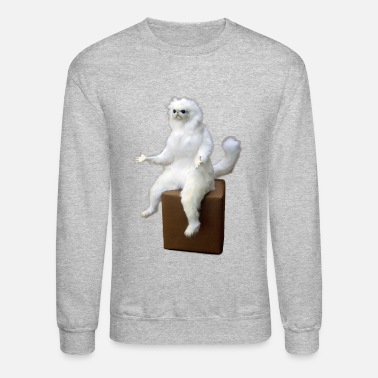 Cat Cat Meme - Crewneck Sweatshirt