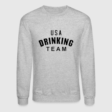 Usa USA Drinking Team - Crewneck Sweatshirt
