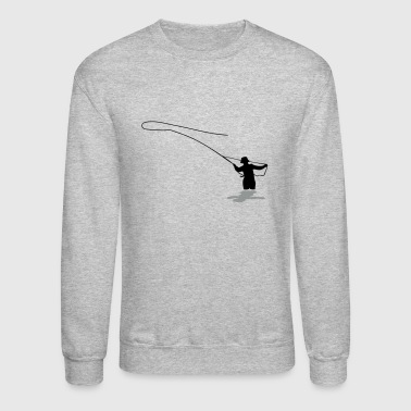 Fishing Fly Fishing - Crewneck Sweatshirt
