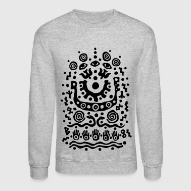Eyes and Snakes by Qenjo - Crewneck Sweatshirt