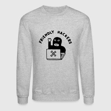 Friendly Hackers - Crewneck Sweatshirt