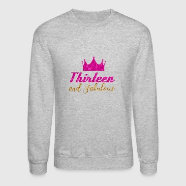 13th Birthday Girl - Crewneck Sweatshirt