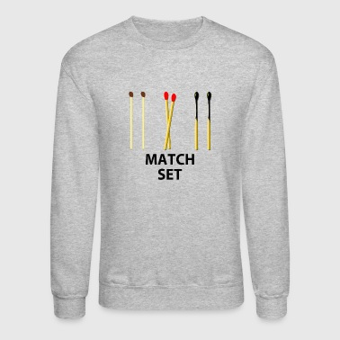 MATCH SET - Crewneck Sweatshirt