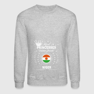 queen love princesses NIGER - Crewneck Sweatshirt
