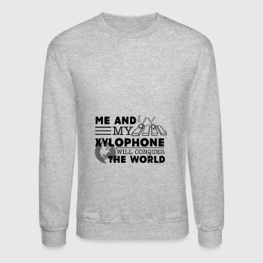 Xylophone Player T shirts - Crewneck Sweatshirt