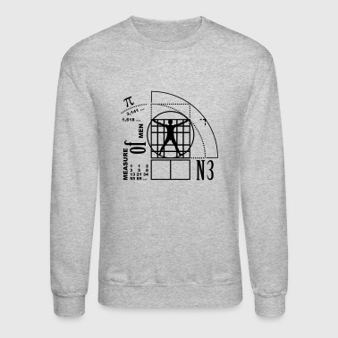 measure of men (1c) - Crewneck Sweatshirt