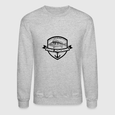 Gone Perching | Perch Fishing (Outdoor activity) - Crewneck Sweatshirt