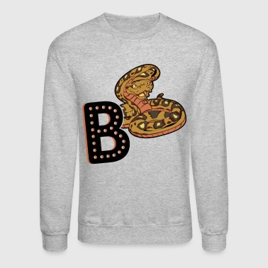 B Is For Ball Python Shirt - Crewneck Sweatshirt