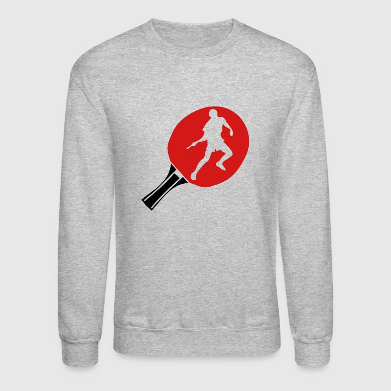 racket table tennis ping pong player - Crewneck Sweatshirt