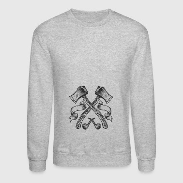 Axes - Crewneck Sweatshirt