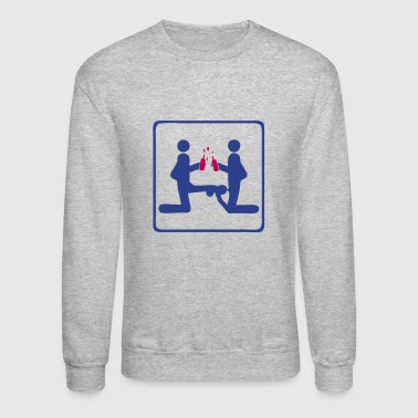 three love sex - Crewneck Sweatshirt