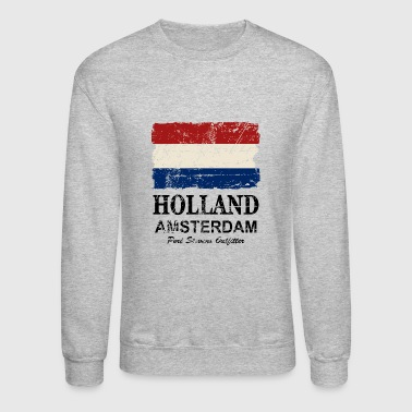 Holland Flag - Vintage Look  - Crewneck Sweatshirt