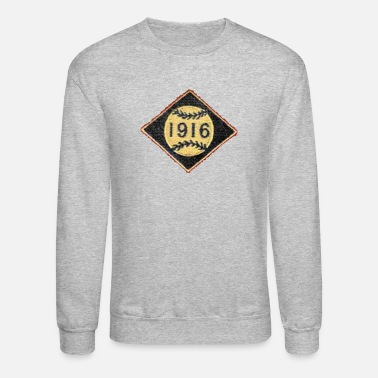 1916 Boston 1916 Baseball Patch Apparel - Crewneck Sweatshirt