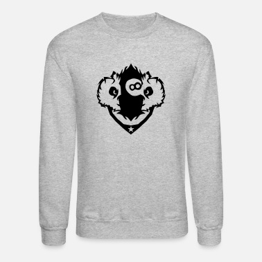 Pool owl logo nasty pool - Crewneck Sweatshirt
