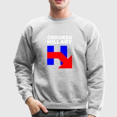 CROOKED HILLARY - Crewneck Sweatshirt