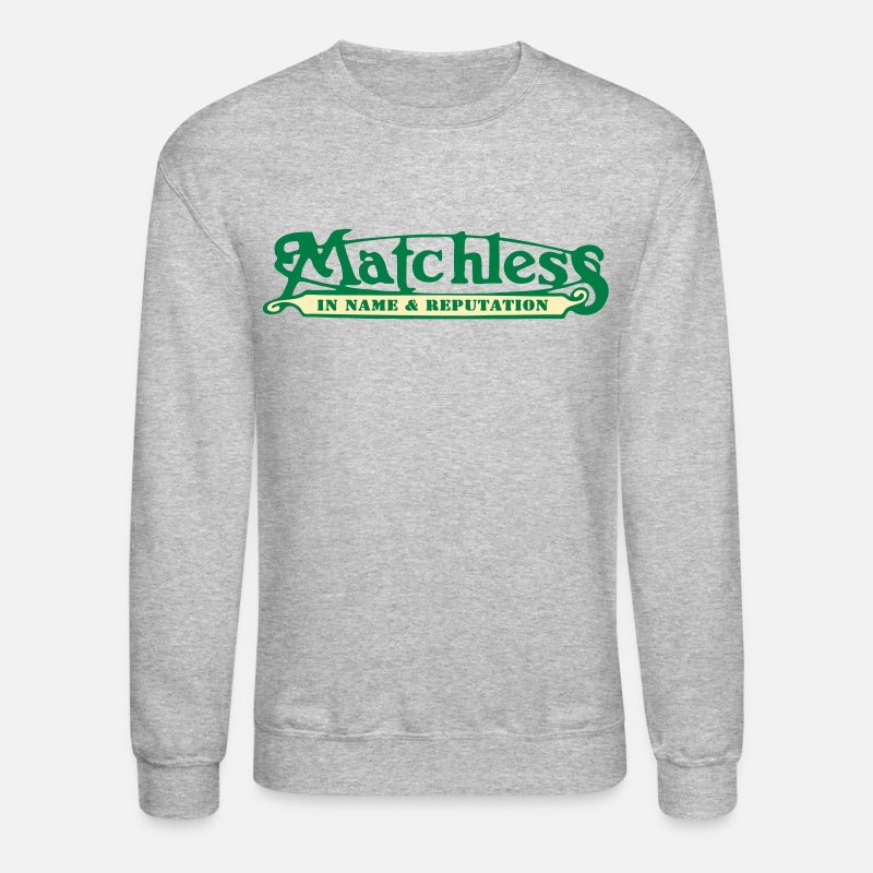 Motorcycle Hoodies & Sweatshirts - matchless - Unisex Crewneck Sweatshirt heather gray